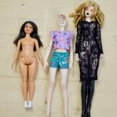 "Curvy Barbie, NL Zaya, Bimong Shahti (standard 16"" fashion doll)"